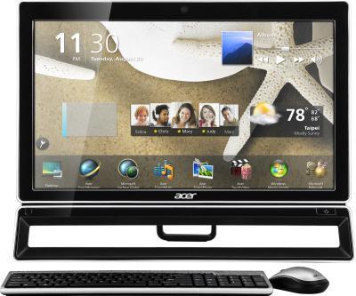 Готовое рабочее место Acer Aspire Z3770 (DQ.SMMME.001) - фронтальный вид