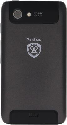 Смартфон Prestigio MultiPhone 4300 Duo Black (PAP4300DUO) - задняя панель
