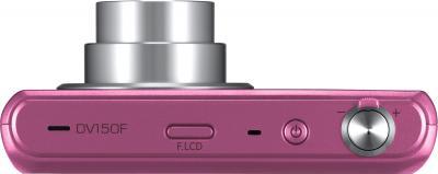 Компактный фотоаппарат Samsung DV150F (EC-DV150FBPPRU) (Pink) - вид сверху