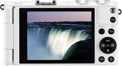 Компактный фотоаппарат Samsung EX2F (EC-EX2FZZBPWRU) (White) - вид сзади
