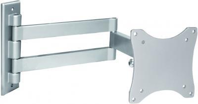 Кронштейн для телевизора Arm Media LCD-7101 Silver - вполоборота