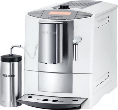 Кофемашина Miele CM 5200 White (White с термосом для молока) - общий вид
