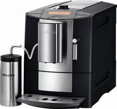 Кофемашина Miele CM 5200 (Black с термосом для молока) - общий вид