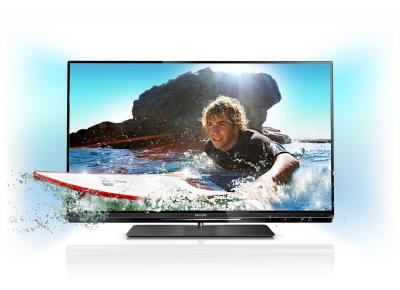 Телевизор Philips 32PFL6087T/12 - подсветка Ambilight