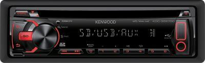 Автомагнитола Kenwood KDC-3657SD - общий вид