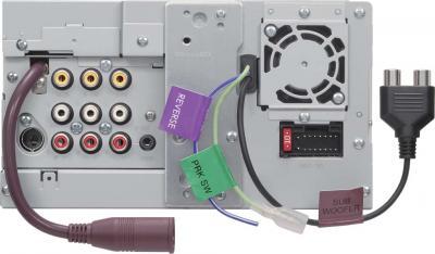 Автомагнитола Kenwood DDX3021 - вид сзади