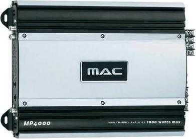 Автомобильный усилитель Mac Audio MPX 4000 - общий вид