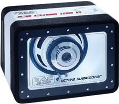 Корпусной активный сабвуфер Mac Audio Ice Cube 108A - общий вид