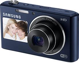 Компактный фотоаппарат Samsung DV150F (EC-DV150FBPBRU) (Black) - общий вид