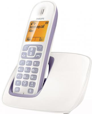 Беспроводной телефон Philips CD2901P - вид сбоку