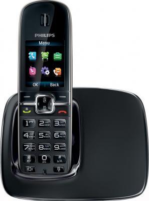 Беспроводной телефон Philips CD4911B - вид спереди