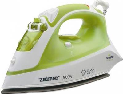 Утюг Zelmer 28Z030 White-Green - общий вид