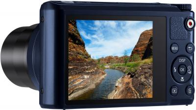 Компактный фотоаппарат Samsung WB200F (EC-WB200FBPBRU) (Black Cobalt) - дисплей