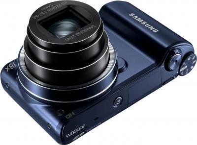 Компактный фотоаппарат Samsung WB200F (EC-WB200FBPBRU) (Black Cobalt) - общий вид