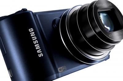 Компактный фотоаппарат Samsung WB250F (EC-WB250FBPBRU) (Black Cobalt ) - общий вид