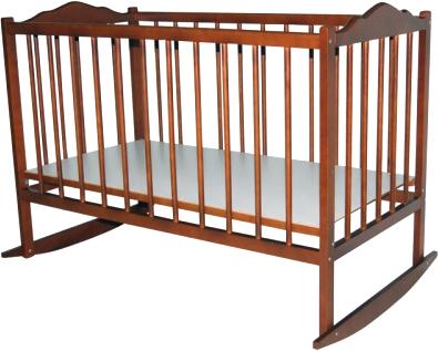 Детская кроватка Bambini Э 01.10.01 (Светлый Орех) - общий вид
