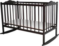 Детская кроватка Bambini Э 01.10.01 (Темный Орех) -