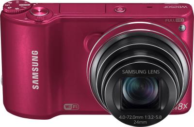 Компактный фотоаппарат Samsung WB250F (EC-WB250FBPRRU) (Red)