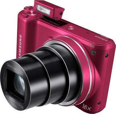 Компактный фотоаппарат Samsung WB250F (EC-WB250FBPRRU) (Red) - общий вид