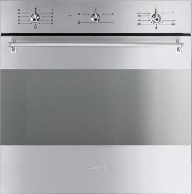 Газовый духовой шкаф Smeg SF341GVX - общий вид