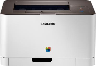 Принтер Samsung CLP-365 - фронтальный вид