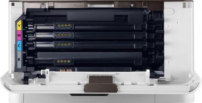 Принтер Samsung CLP-365 - фронтальный вид (изнутри)