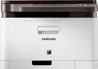 МФУ Samsung CLX-3305 - фронтальный вид