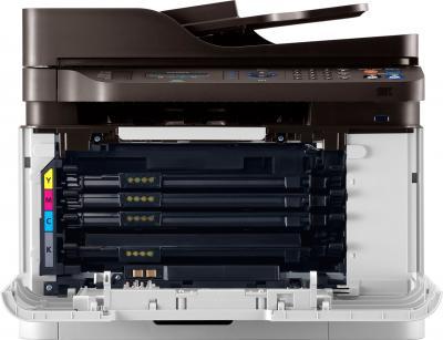 МФУ Samsung CLX-3305FN - фронтальный вид (изнутри)