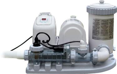 Фильтр-насос и система морской воды Intex Krystal Clear 28672/54616 - общий вид
