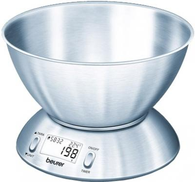 Кухонные весы Beurer KS 54 - вид сбоку