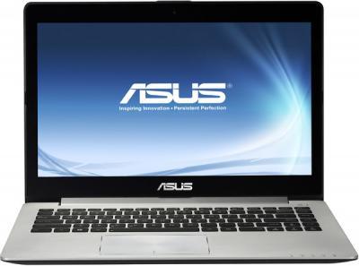Ноутбук Asus VivoBook S400CA (90NB0051-M01470) - фронтальный вид