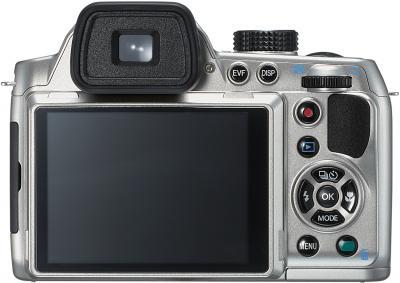 Компактный фотоаппарат Pentax X-5 (Silver) - вид сзади
