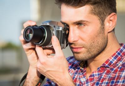 Компактный фотоаппарат Pentax X-5 (Silver) - общий вид
