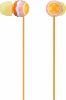 Наушники Sony MDR-EX40 Orange - общий вид