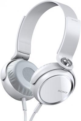 Наушники Sony MDR-XB400 White - общий вид