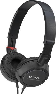 Наушники Sony MDR-ZX100 Black - общий вид