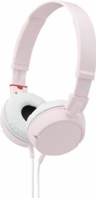 Наушники Sony MDR-ZX100 Pink - общий вид