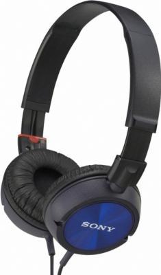 Наушники Sony MDR-ZX300 Blue - общий вид