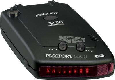 Радар-детектор Escort Passport 8500 X50 INTL Black - общий вид