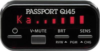 Радар-детектор Escort Passport Qi45 Euro - дисплей-контроллер