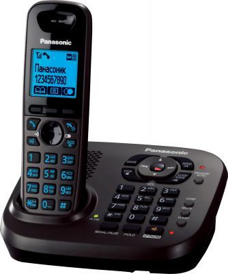 Беспроводной телефон Panasonic KX-TG6561  (титановый) - общий вид