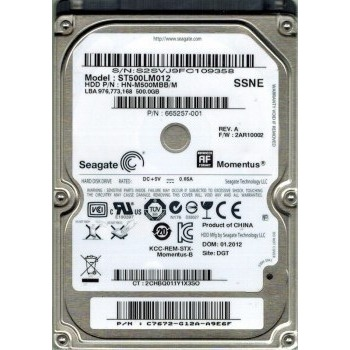 Жесткий диск Seagate ST500LM012 - общий вид