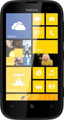 Смартфон Nokia Lumia 510 Yellow - вид спереди