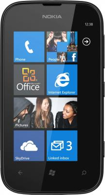 Смартфон Nokia Lumia 510 Black - общий вид
