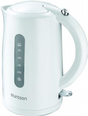 Электрочайник Oursson EK1710P/WH - общий вид