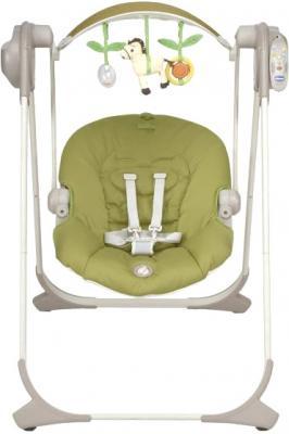 Качели для новорожденных Chicco Polly Swing Up (лайм) - общий вид