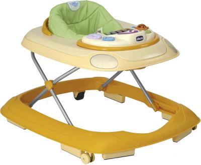 Ходунки Chicco Band Baby Walker Yellow - общий вид