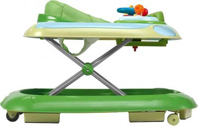Ходунки Chicco Band Baby Walker Green - вид сбоку
