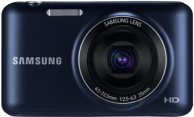 Компактный фотоаппарат Samsung ES95 Black (EC-ES95ZZBPBRU) - вид спереди