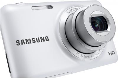 Компактный фотоаппарат Samsung ES95 White (EC-ES95ZZBPWRU) - общий вид